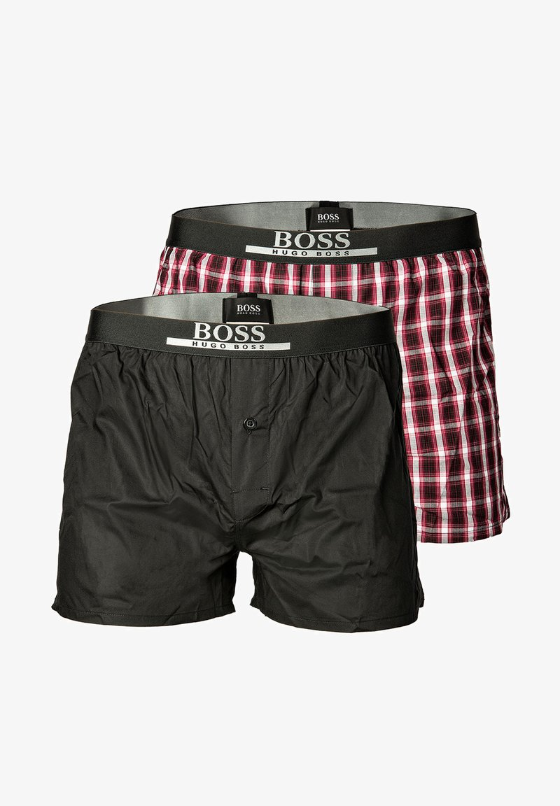 BOSS - 2PACK - Boxer shorts - dunkelrot
