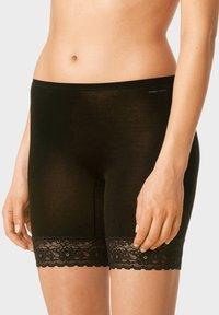 mey - LONG PANTS SERIE MEY LIGHTS - Pants - black - 0