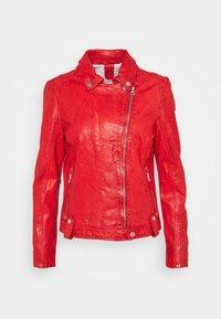 Gipsy - Kožená bunda - rot - 0