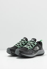 The North Face - W ULTRA ENDURANCE XF FUTURELIGHT - Trail running shoes - black/zinc grey