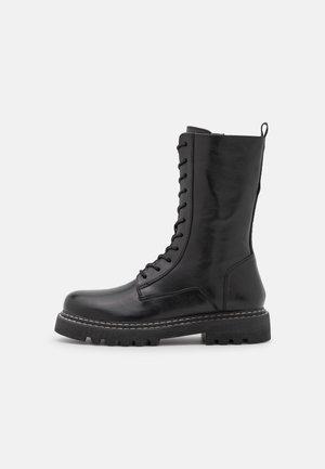 EVERY WHERE - Stivali con i lacci - black