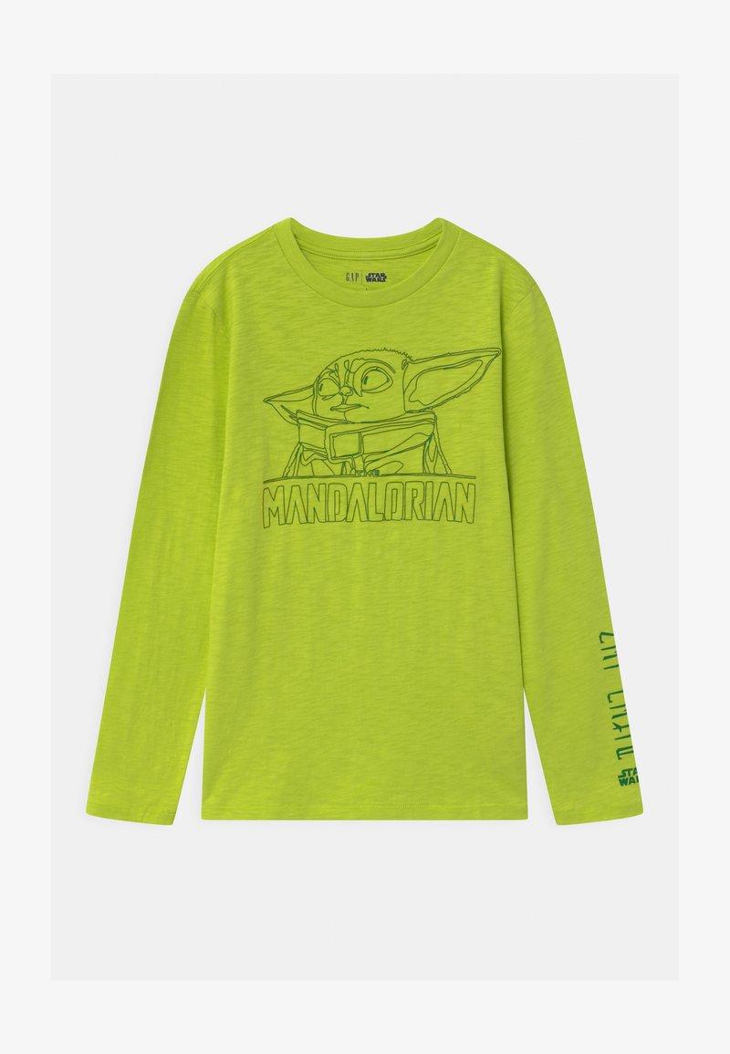 GAP - BOY STAR WARS MANDALORIAN - Maglietta a manica lunga - green thumb