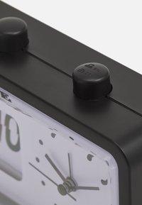 TYPO - RETRO FLIP CLOCK UNISEX - Tech accessory - matte black - 2