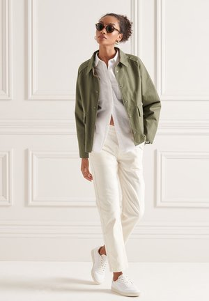 Summer jacket - moss khaki