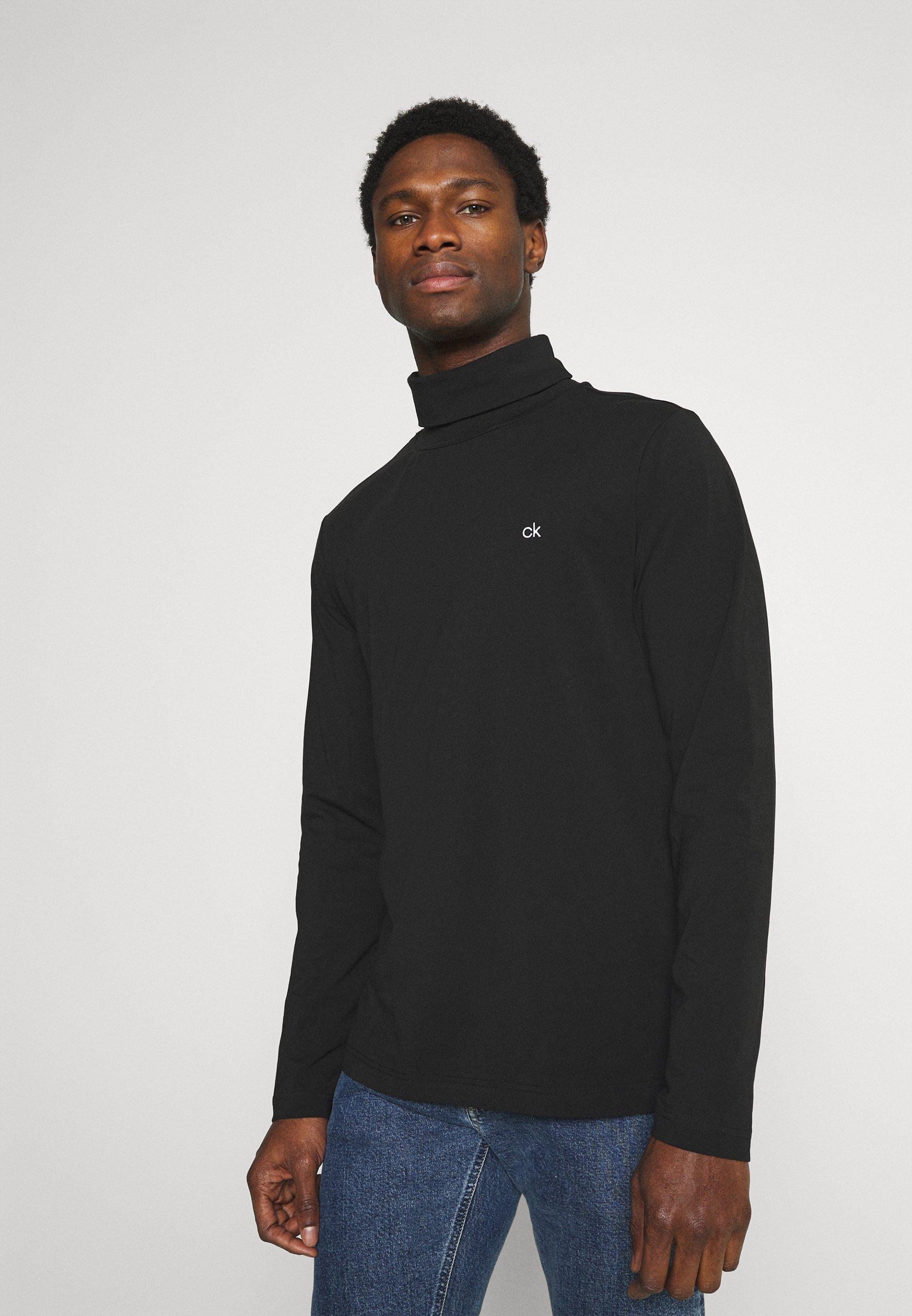 Uomo ROLL NECK LONG SLEEVE  - Maglietta a manica lunga