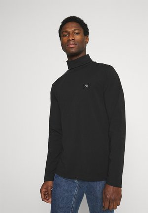 ROLL NECK LONG SLEEVE  - Langærmede T-shirts - black