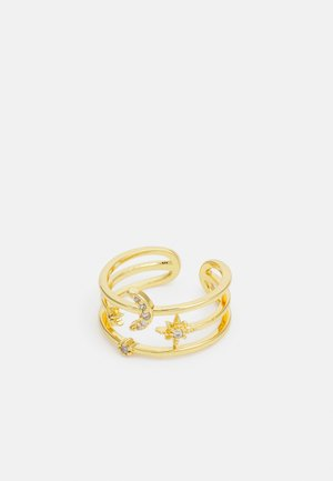 MOON AND STAR - Ring - gold-coloured