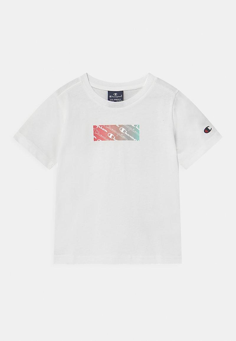 Champion - AMERICAN PASTELS CREWNECK UNISEX - Camiseta estampada - white