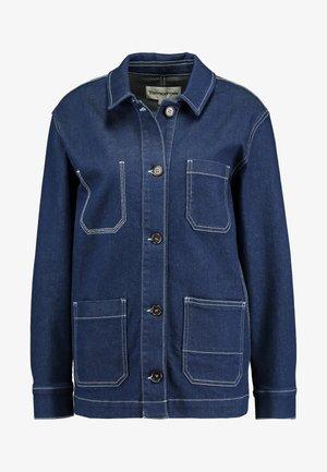 LINCOLN JACKET RAW - Denim jacket - denim blue