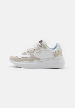 PECKAM BLOCK - Sneakersy niskie - white