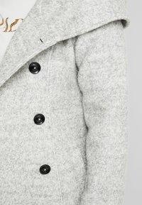 Anna Field Curvy - Manteau classique - light grey melange - 5