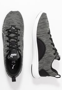 Puma - SOFTRIDE VITAL CLEAN - Sports shoes - black/ultra gray/white - 1