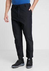 Nike Golf - FLEX PANT NOVELTY - Trousers - black - 0