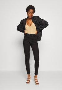 Topshop - JAMIE - Jeans Skinny Fit - black - 1