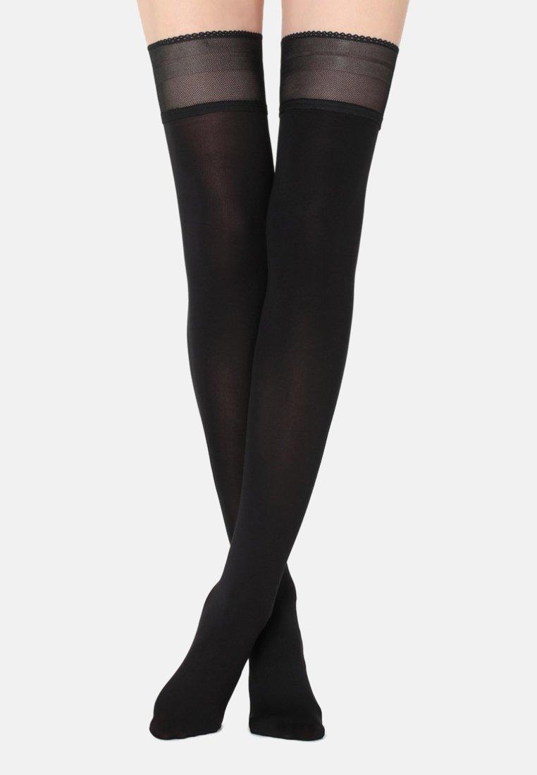 Calzedonia - Over-the-knee socks - black