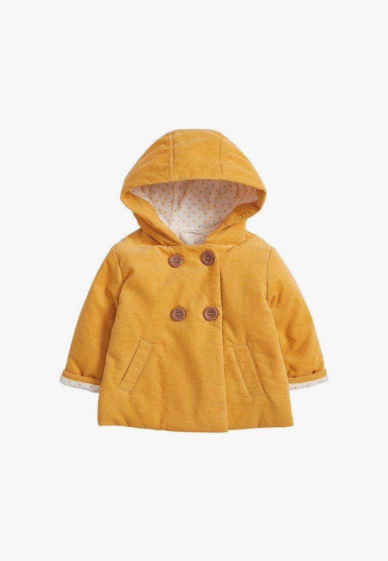 Next - Zimní kabát - yellow