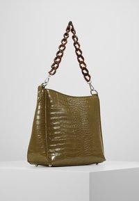 HVISK - AMBLE CROCO - Handbag - olive - 2