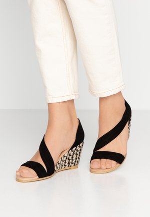 MAID - Wedge sandals - black