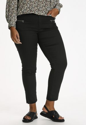 KCMANNNY Z - Trousers - black deep