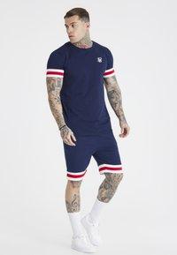 SIKSILK - TOURNAMENT TEE - Basic T-shirt - navy - 1