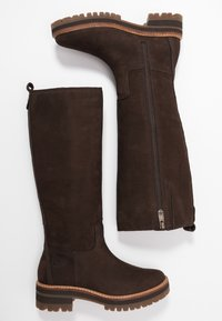 Timberland - COURMAYEUR VALLEY TALL - Stiefel - dark brown - 3