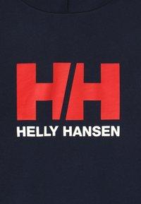 Helly Hansen - LOGO HOODIE UNISEX - Hættetrøjer - navy - 3