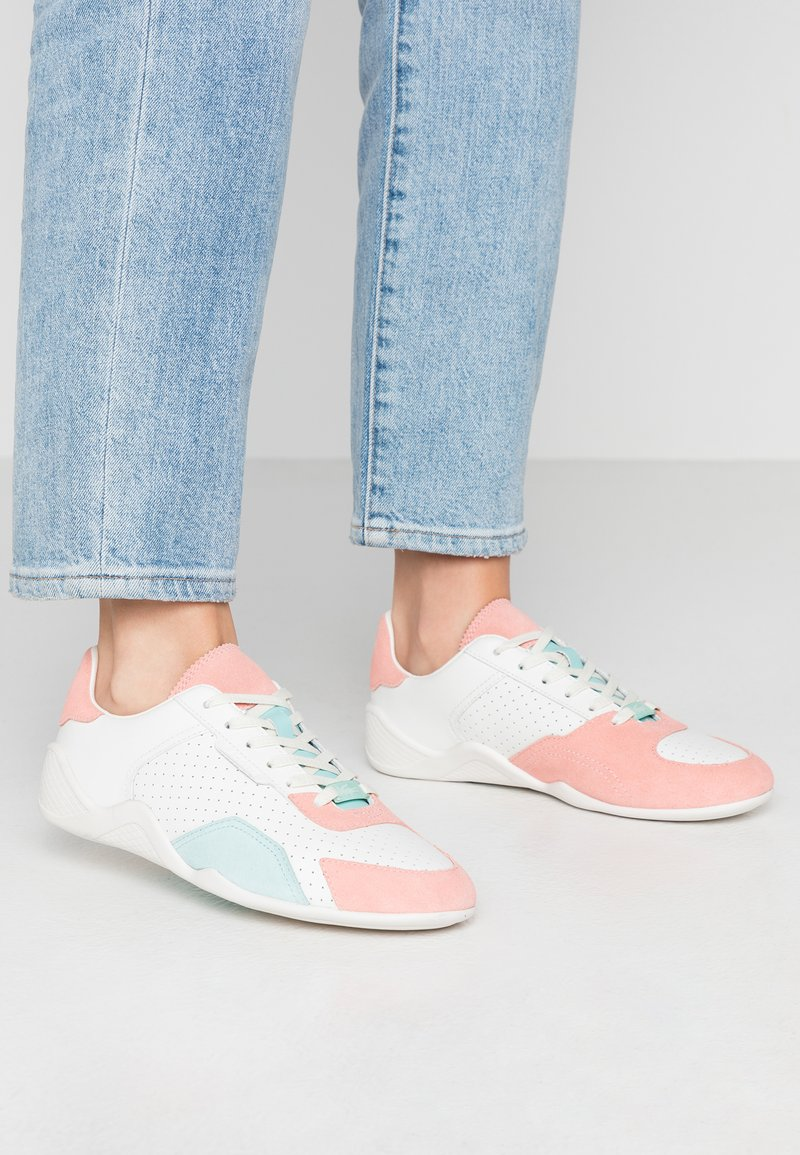 Lacoste - HAPONA - Trainers - offwhite/light pink