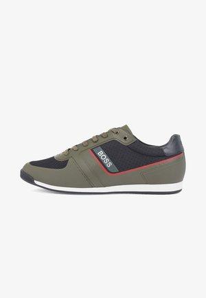 Sneaker low - open green