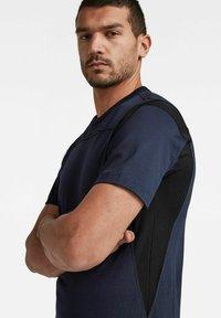 G-Star - Print T-shirt - sartho blue - 3