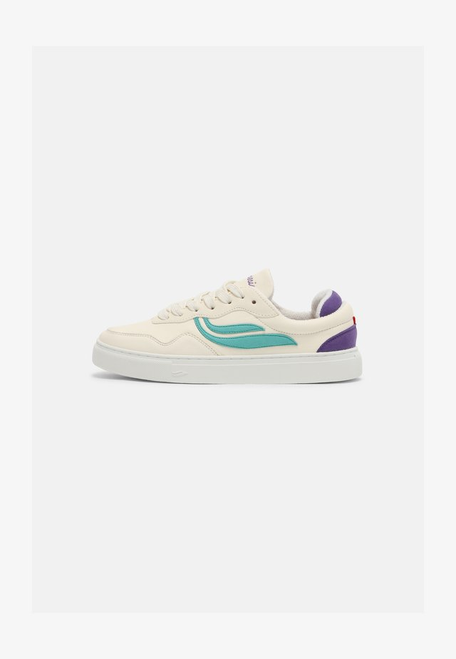 SOLEY UNISEX  - Sneakers basse - white/inkblue/purple