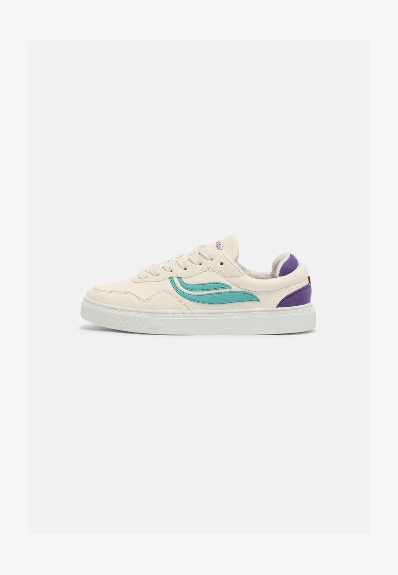 Genesis - SOLEY UNISEX  - Sneakers basse - white/inkblue/purple