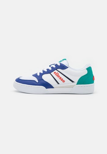 USTICA - Sneakers - white/blue/dark green