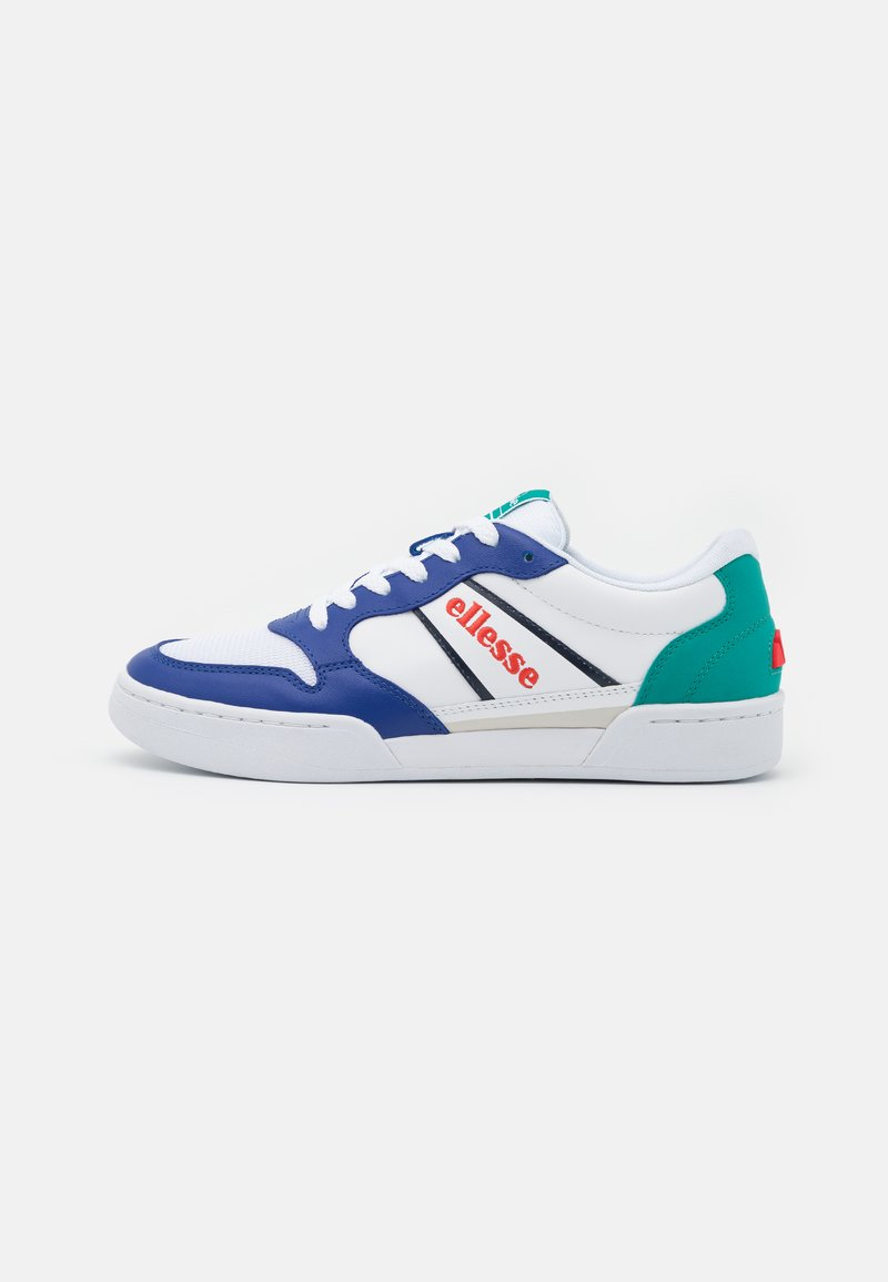 Ellesse - USTICA - Trainers - white/blue/dark green