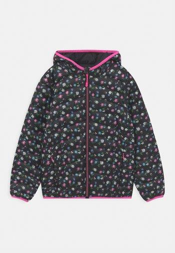 Winter jacket - black/multi-coloured