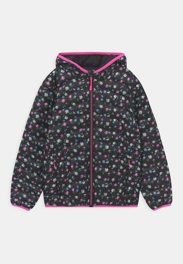 Zimní bunda - black/multi-coloured