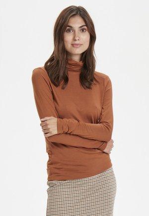 AFINAS - Long sleeved top - brown