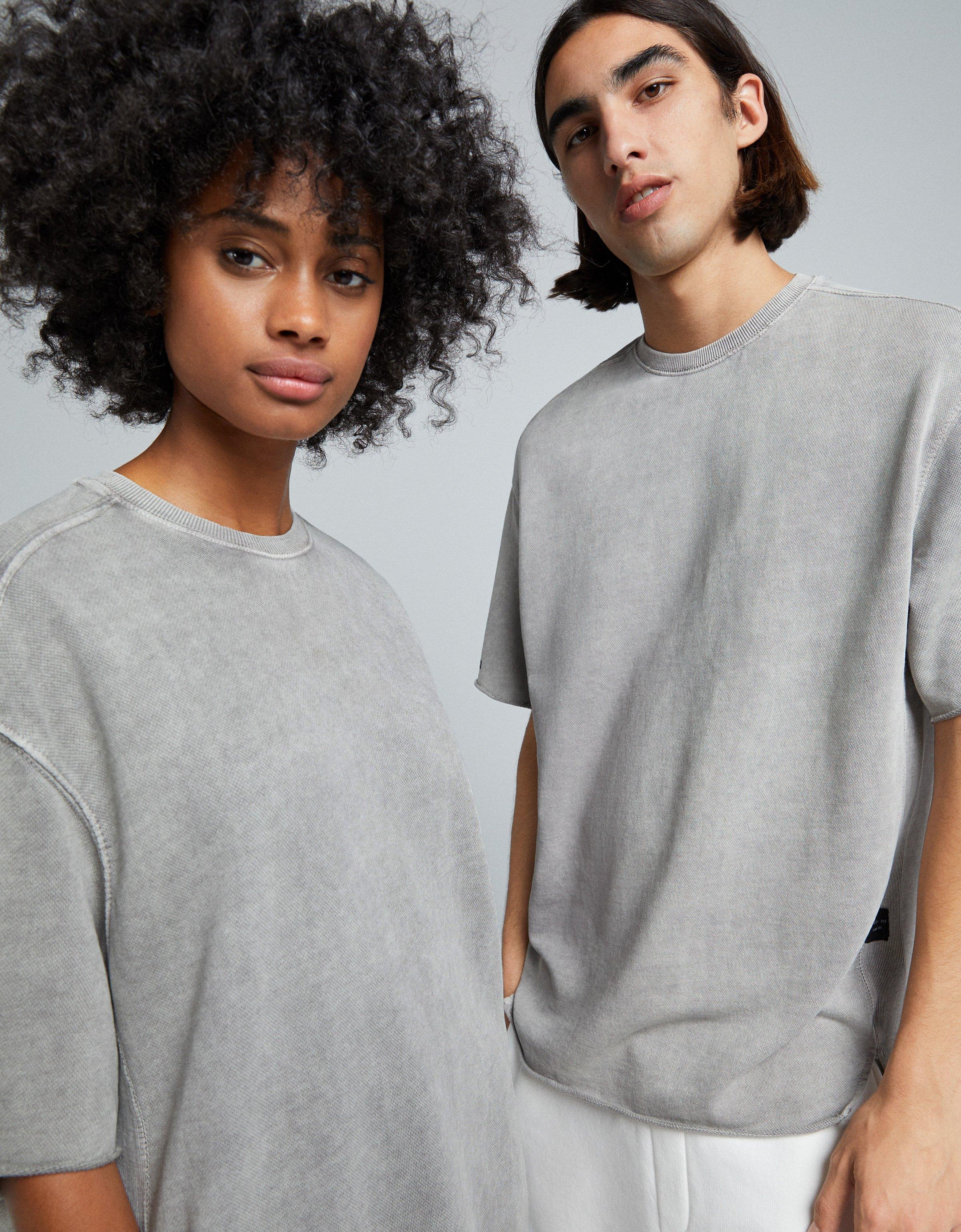 Homme OVERSIZED SHORT SLEEVE SWEAT - T-shirt basique