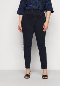 Dorothy Perkins Curve - ELLIS SKINNY - Jeans Skinny Fit - indigo - 0