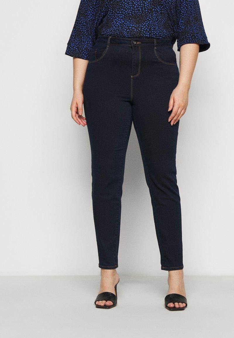 Dorothy Perkins Curve - ELLIS SKINNY - Jeans Skinny Fit - indigo