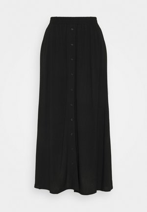 YASSAVANNA SKIRT - Maxi skirt - black