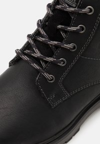 s.Oliver - Lace-up ankle boots - black - 5