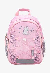 light pink/mottled pink