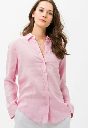 VICTORIA - Button-down blouse - rose