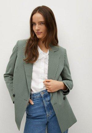 CHARLOTT - Halflange jas - green