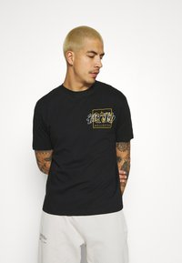 Common Kollectiv - JAPAN TEE UNISEX - Print T-shirt - black - 0