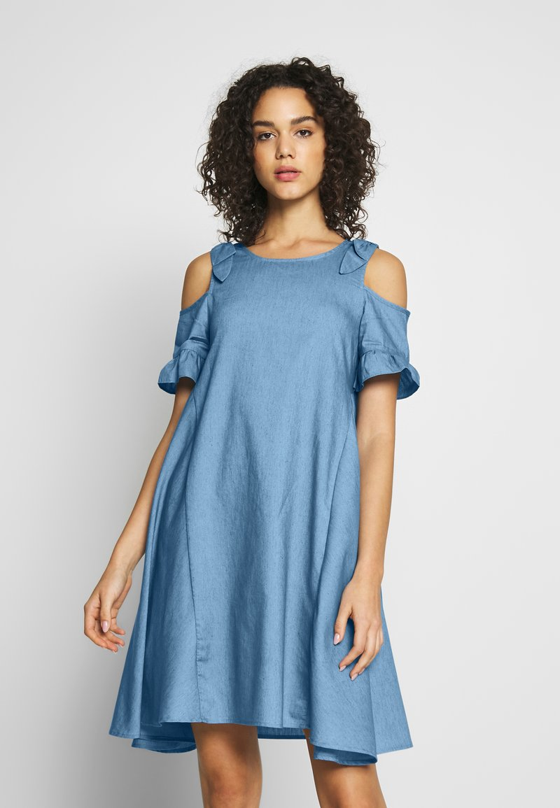 Molly Bracken - LADIES DRESS - Denní šaty - light denim