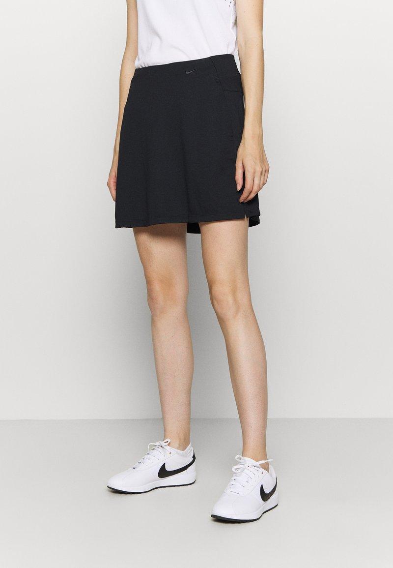 Nike Golf - DRY VICTORY SKIRT SOLID - Sportovní sukně - black