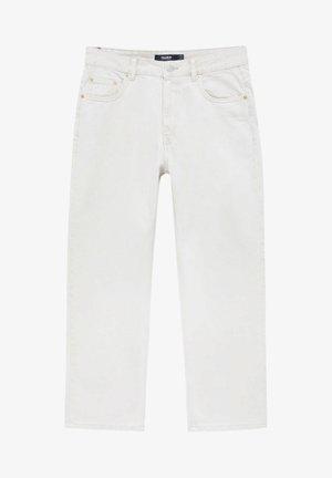 Jean slim - mottled beige