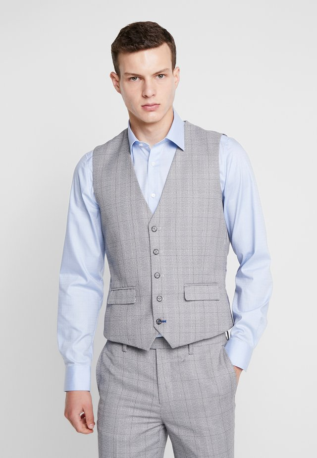 CONNELY SKINNY FIT  - Gilet de costume - grey