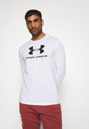 SPORTSTYLE LOGO - Funkční triko - white